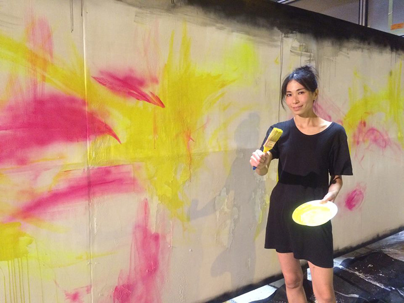 Tomoko e la Street Art
