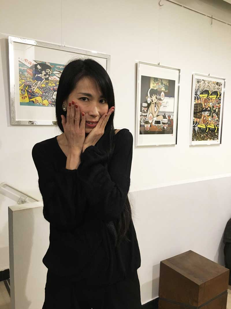 Tomoko Nagao, Galleria Deodato Arte, Japan Pop Art // Edo Pop e Nipposuggestioni