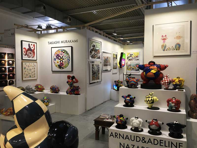 Deodato Arte, Stand G3 Affordable Art Fair 2016