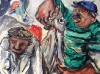 Pescatori al mercato