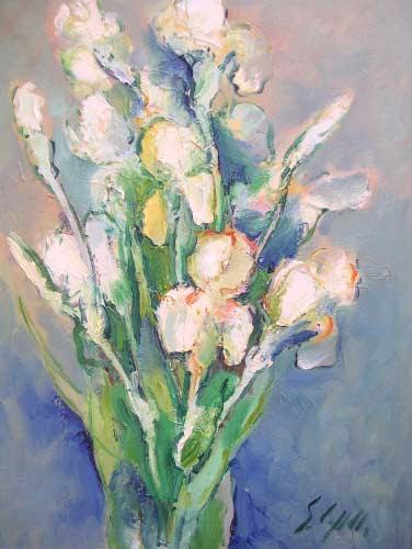 Dipinti e quadri di natura morta for Quadri a olio fiori