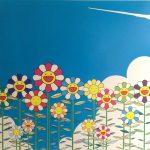 Takashi Murakami, Flower I, 2002, mixed media print, 145/300, 52,5x52,5 cm
