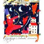 Francesco Musante, Sagittario, segno dello zodiaco, serigrafia polimaterica firmata e numerata, 105 €.