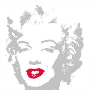 Andy Warhol, Golden Marilyn 11.35, serigrafia su carta museale, 91x91 cm, 2015