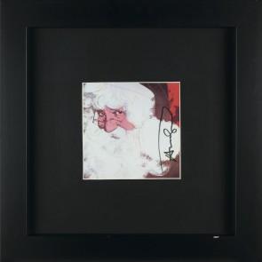Andy Warhol, Santa Claus, postcard firmata a pennarello nero