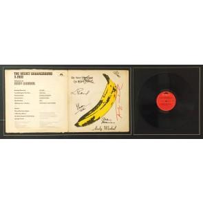 Andy Warhol, Banana disco Velvet Underground, firmato da warhol e da tutti i componenti della band