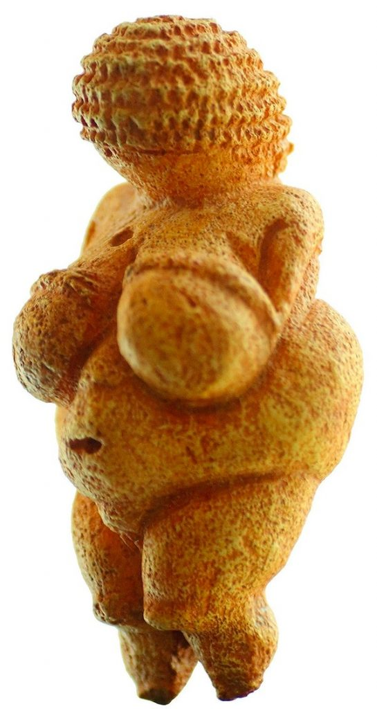Venere di Willendorf  (ca 23.000-19.000 a.C.)