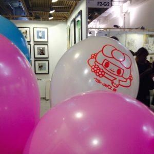 I palloncini firmati Tomoko Nagao
