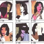 Andy Warhol - 10 portraits in progress