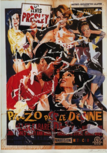 Mimmo Rotella, Pazzo per le Donne, seridécollage originale in tiratura limitata. Disponibile alla Galleria Deodato Arte.