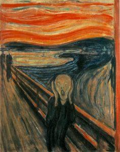 l'urlo - opera di Edvard Munch