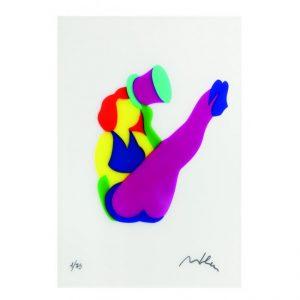 Pin Up Cabaret - serigrafia su pvc dell'artista Marco Lodola