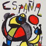 Coppa del Mondo, Spagna82, litografia firmata e numerata, 150 esemplari,1982_95,3x60cm_M.1250-min