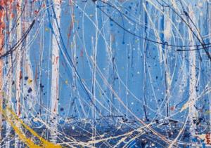 Manuela Manes, Pantelleria, porto vecchio, pezzo unico, 100x70 cm. Disponibile alla Galleria Deodato Arte.