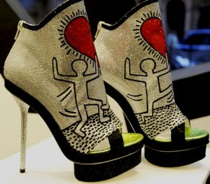 Collezione Keith Haring by Nicholas Kirkwood, 2011 - Ispirata a opere d'arte di Keith Haring