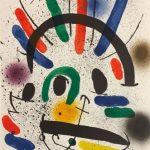 Senza Titolo, Joan Mirò - Litografia a colori disponibile presso la galleria Deodato Arte.