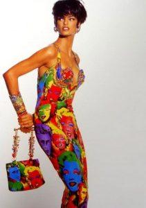 Abito della collezione Primavera/Estate 1991 by Gianni Versace