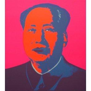 Mao Hot Pink- Serigrafia edita da SBM disponibile presso la galleria Deodato Arte
