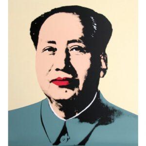 Mao Yellow- Serigrafia edita da SBM disponibile presso la galleria Deodato Arte