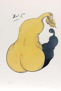 Casanova tavola 9 - incisione firmata da Salvador Dalì disponibile presso la galleria Deodato Arte