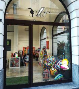 Galleria Deodato Arte - sede di Via Nerino 2