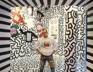 POP SHOP di Keith Haring al 292 di Lafayette Street a New York