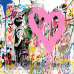 With All My Love - Opera unica di Mr.Brainwash in vendita presso la Galleria Deodato Arte di Milano