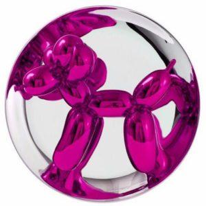 Balloon Dog Magenta - Opera di Jeff Koons in vendita presso la Galleria Deodato Arte
