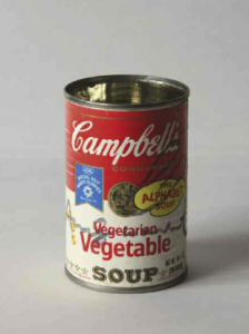 Andy Warhol, Campbell's Soup box, '70