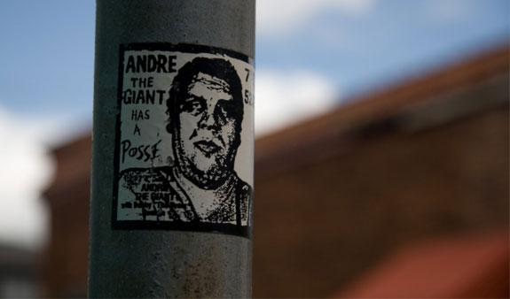 Andre the Giant - Obey prima opere Famosa
