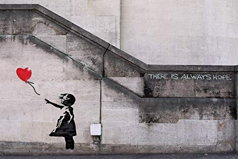 Balloon Girl - Banksy - London 2002