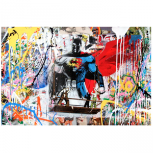 Mr. Brainwash - Batman VS Superman