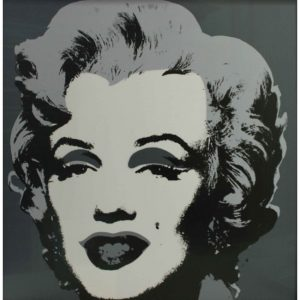 Marilyn Monroe Gray - Andy Warhol