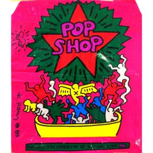 POP Shop firmata da Keith Haring