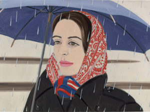 Alex Katz Blue Umbrella I 1972